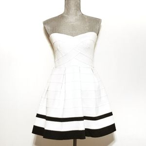 Sans Souci Strapless Sweetheart Neckline Dress
